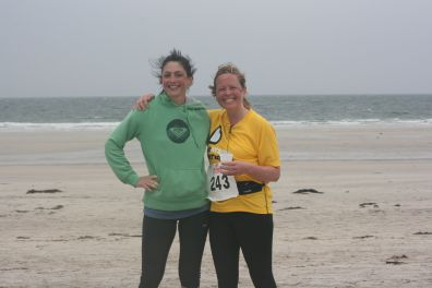 Tiree half marathon after finishing May '14