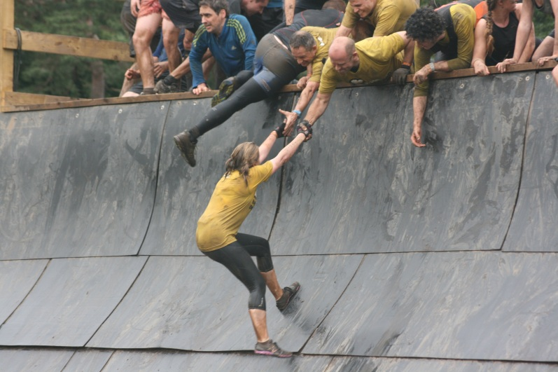 Tough Mudder Everest June '14