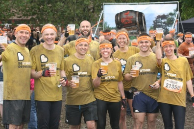 Tough Mudder Team Finishes June '14