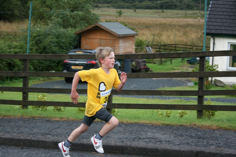 Mull kids 3K Aug '14